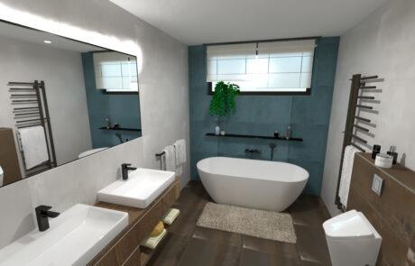 Návrh koupelnové studio