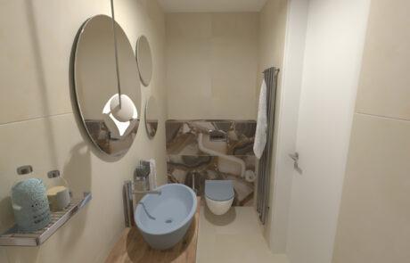 Koupelnové studio - návrh