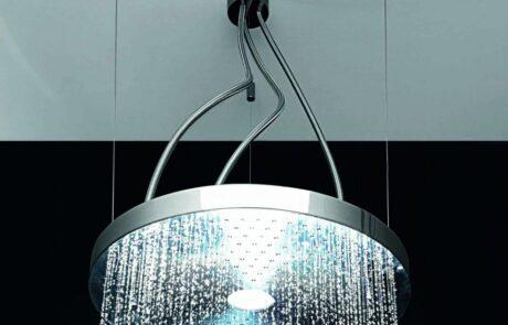 Moderní sprcha lustr