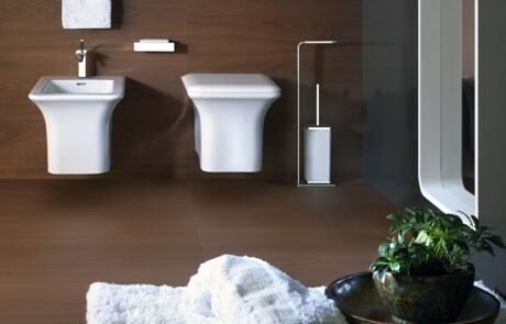 Dřevěné koupelnové obklady