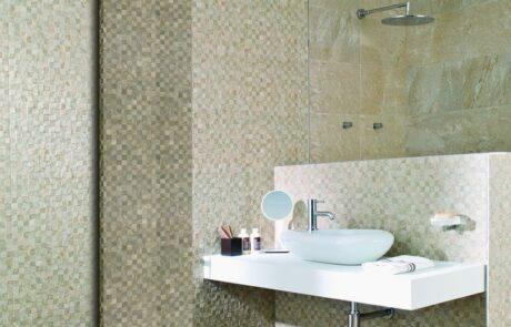 Sofi design návrh koupelny mozaika
