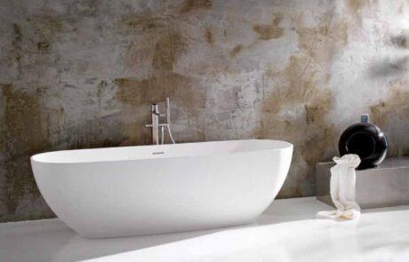 Minimalistická industriální koupelna