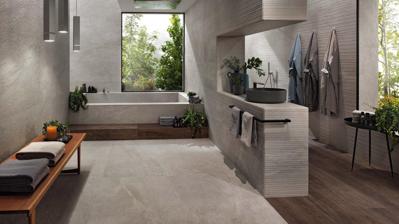 Moderní koupelny návrh