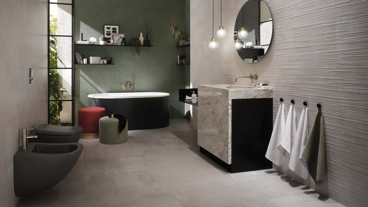 3D návrh koupelny praha