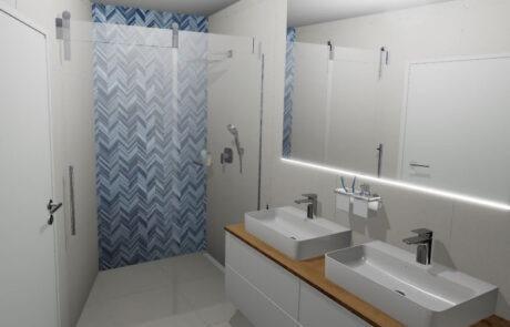 Kompletní návrh koupelny
