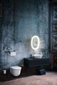 Rustikální anglická koupelna