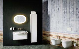 rustikální koupelna návrh