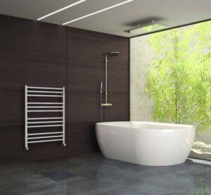 Minimalistická koupelna obklady a dlažba
