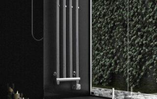 Futuristický návrh koupelnového koutu